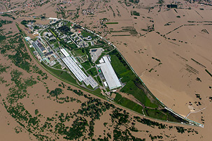 Flood from the sky – Sandomierz 2010
